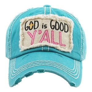 NWT  *BOUTIQUE*        GOD is GOOD Y'ALL       HAT